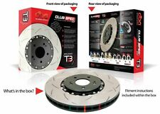 DBA 4000 Series T3 Slotted Brake Rotor fit Holden Commodore VK VL VN - NO IRS