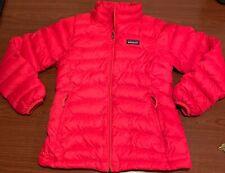 Patagonia Red Girls M 10 Jacket Puffer Down Winter Coat