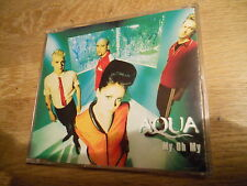 AQUA MY OH MY 1997 6 REMIXED TRACKS CD ALBUM AQUA´S DEBUT EARLY 1997 MCA RECORDS