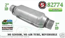 "82774 Eastern Universal Catalytic Converter ECO II Catalyst 2"" Pipe 12"" Body"