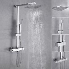Sistema doccia a pioggia colonna doccia doccetta bagno gruppo portasapone set IT