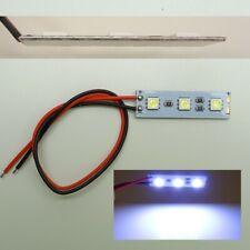5x super luminosi segnale per avvitare LED 24v m8 filettatura 20cm Cavo verde;