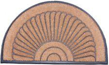 Riesige Gummimatte Fußmatte Abstreifer Gummi Kokos 60x100 cm hr halbrund neu