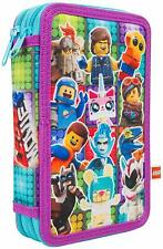 Lego Movie 2  Filled Pencil Case Kids Stationary 22 pieces School Accessories