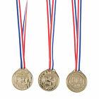 Patriotic Goldtone Medals - Awards & Prizes - 12 Pieces