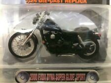 Harley Davidson 1-24 Die cast Replica 2000 FXDX Super Glide Sport Bar + Shield
