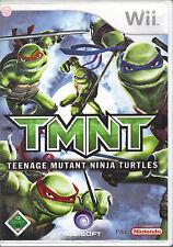 """"""" TMNT - Teenage Mutant Ninja Turtles """" (Nintendo Wii)"""
