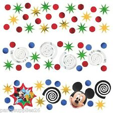 MICKEY MOUSE PARTY SUPPLIES TABLE CONFETTI VALUE PACK OF 34g (1.2 oz)