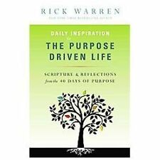 Daily Inspiration for the Purpose Driven Life by Rick Warren Book NEW