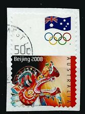 ˳˳ ҉ ˳˳AU521 Australia Complete set 2008 different used Beijing Olympic Games