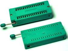 32 PIN UNIVERSAL ZIF TEST DIP IC SOCKET for DIY Arduino - UK SELLER #260