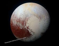 Historic Photograph of the Planet Pluto NASA  2015  11x14