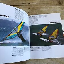 Vintage Dealer Sales Brochures Gaastra Sails 1988 Foils Wavefoil Funfoil Boating