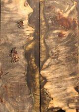 Stabilized Buckeye Burl for Knife Scales, Pistol grips, etc. (1254)