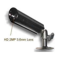 """Sunvision 800TVL In/Outdoors Mini Bullet Camera 1/3"""" Sony 2MP 3.6mm Lens (48A)"""