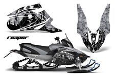 Snowmobile Graphics Kit Decal Sticker Wrap For Yamaha Apex 2006-2010 REAPER SLVR