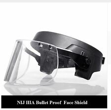 Bulletproof Visor Helmet Face Shield Tactical Combat Swat Army Military Riot SAS