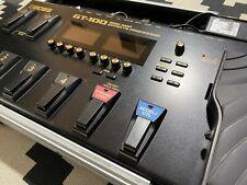 Boss GT 100 Multieffekt und Amp-Modeling V2 inkl. Rockcase (Koffer) und Rockbag