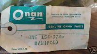 Genuine OEM Onan Exhaust Manifold Part# 154-0725 NOS