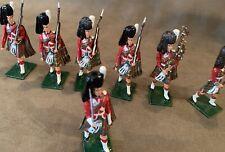 Scottish HIGHLANDERS, Set of 7, 54mm Scale Metal