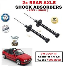 Asse Posteriore. Ammortizzatore Set per VW Golf III Cabriolet 1.6 1.8 1.9 2.0