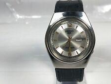 Vintage Seiko Automatic 7009 Movement Day Date Analog Dial Wrist Watch O47