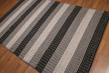 5' x 8' Hand woven 100%Wool Restoration Hardware look plus pile Area rug AOR8270