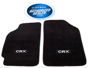 NRG Carpet Floor Mats Set Fits Honda CRX 1988-1991 FMR-110