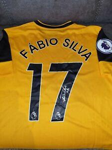 Signed Fabio Silva Wolves Home Shirt