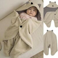 0-8M Newborn Baby Kids Blanket Swaddle Sleeping Bag Sleep Sack Stroller Wrap NEW
