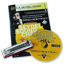 C.A. Seydel Söhne Beginner Pack ORCHESTRA S Soundcheck Vol. 4 Mundharmonika