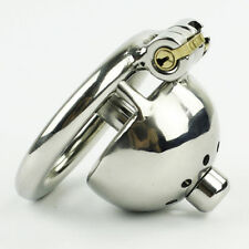 Small Male Chastity Stainless Steel Devices Bondage Metal Chastity Cage