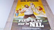 bud spencer  PIED PLAT SUR LE NIL   ! affiche cinema