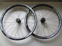 Reynolds MTN T Carbon XC Tubular wheels 15mm / 135 x 10mm 26in NEW RRP £1200 098