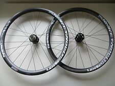 Reynolds mtn T carbone xc tubular wheels 15mm/135 x 10mm 26in nouveau rrp £ 1200 098
