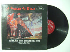 -The Skyliners Senior Drum And Bugle Corps ‎– A Portait In Brass - LP USA 1962