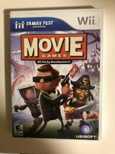 MOVIE GAMES  ( Nintendo Wii  ) Tested
