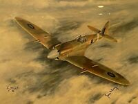 FAR EAST SPITFIRE by E.A.Mills - LTD ED Print 21/50 50th Anniversary Spitfire