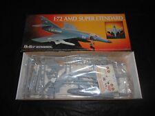 HELLER 80360, 1/72 AMD SUPER ETENDARD PLASTIC MODEL KIT