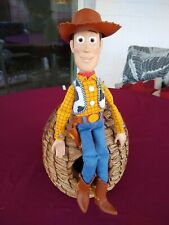 Toy Story Thinkway Talking Woody Doll - Pull String needs repair (jammed).
