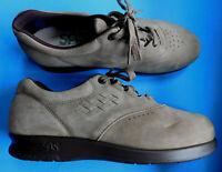 SAS Free Time Tripad Tan Brown Suede Oxford Comfort Shoes Mens Size 7.5
