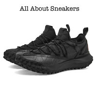 NIKE ACG MOUNTAIN FLY LOW ANTHRACITE & BLACK Trainers All Sizes Limited Stock