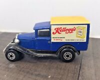 AUTHENTIC VINTAGE MATCHBOX KELLOGGS DIE-CAST MODEL A FORD VAN SUPERFAST 1979