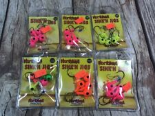 NEW NIP NORTHLAND SINK'N JIGS FISHING TACKLE SET OF 6