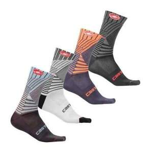 4 pairs castelli mesh pro cycling socks all size