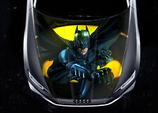 Batman #1 Car Hood Wrap Full Color Vinyl Sticker Decal Fit Any Car