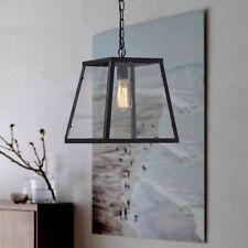 Edison Light Globe E27 Vintage Industrial Cage Frame Ceiling Pendant Lamp