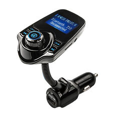 1x LCD Wireless FM Transmitter &USB Charger & Handsfree Bluetooth &MP3 Player yp