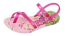 Scarpe Sandali rosa con fibbia per bambini dai 2 ai 16 anni