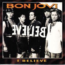 BON JOVI  I Believe PICTURE SLEEVE 45 record + juke box title strip BRAND NEW